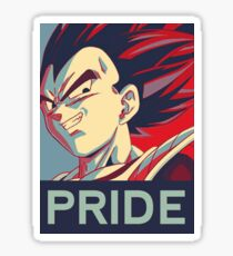 Vegeta's Pride Sticker