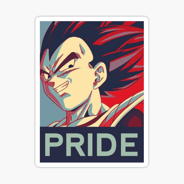 Vegeta's Pride Sticker