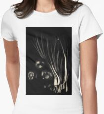 Black vegetables Women's Fitted T-Shirt