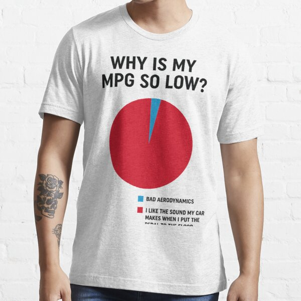 Why is my mpg so low design Essential T-Shirt