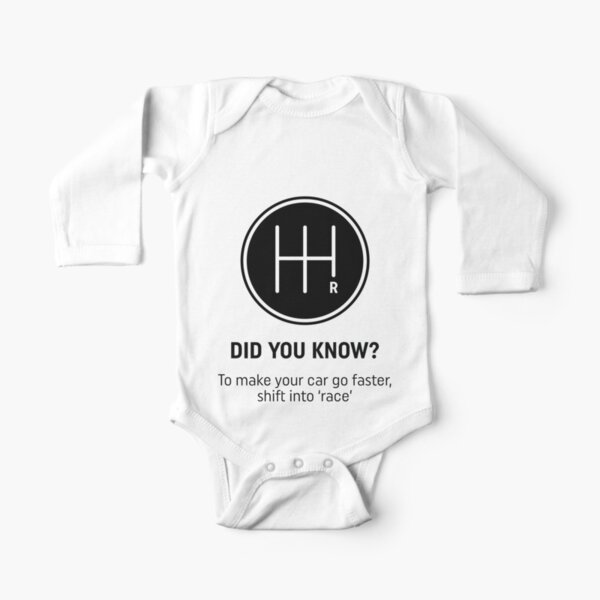 Did you know reverse design Long Sleeve Baby One-Piece