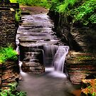 Ithaca's Treman Falls III HDR by PJS15204