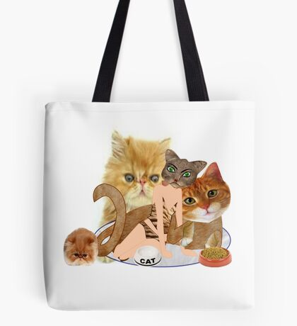 Cats (4791 Views) Tote Bag