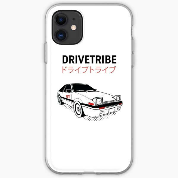 DriveTribe Toyota AE86 JDM design iPhone Soft Case