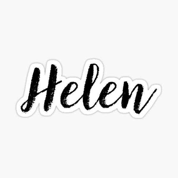Helen - Name Stickers Tees Birthday Sticker
