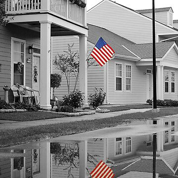 Patriotic Reflection by SaraWood0913