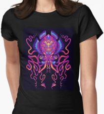 Kopffüßer Tailliertes T-Shirt für Frauen
