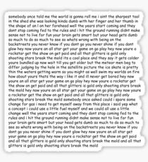 Smash Mouth - All Star lyrics Sticker