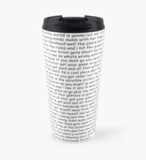 Smash Mouth - All Star lyrics Travel Mug