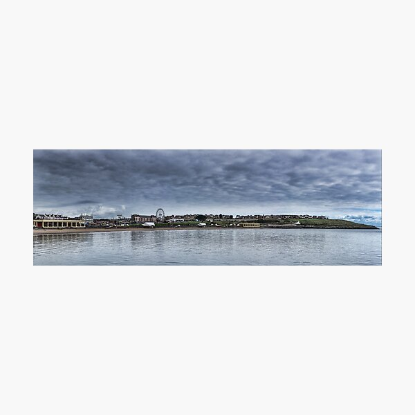 Barry Island Panorama Photographic Print
