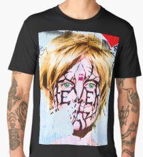London graffiti wall Men's Premium T-Shirt