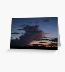 Twilight Sky Greeting Card