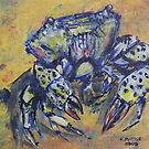 crabby crab by christine purtle