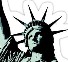 A soft serve of Liberty Sticker