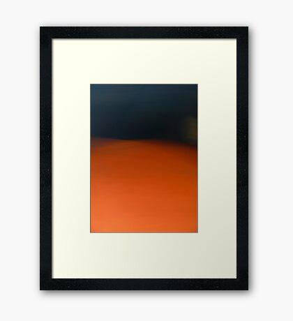 Dust Storm Framed Print