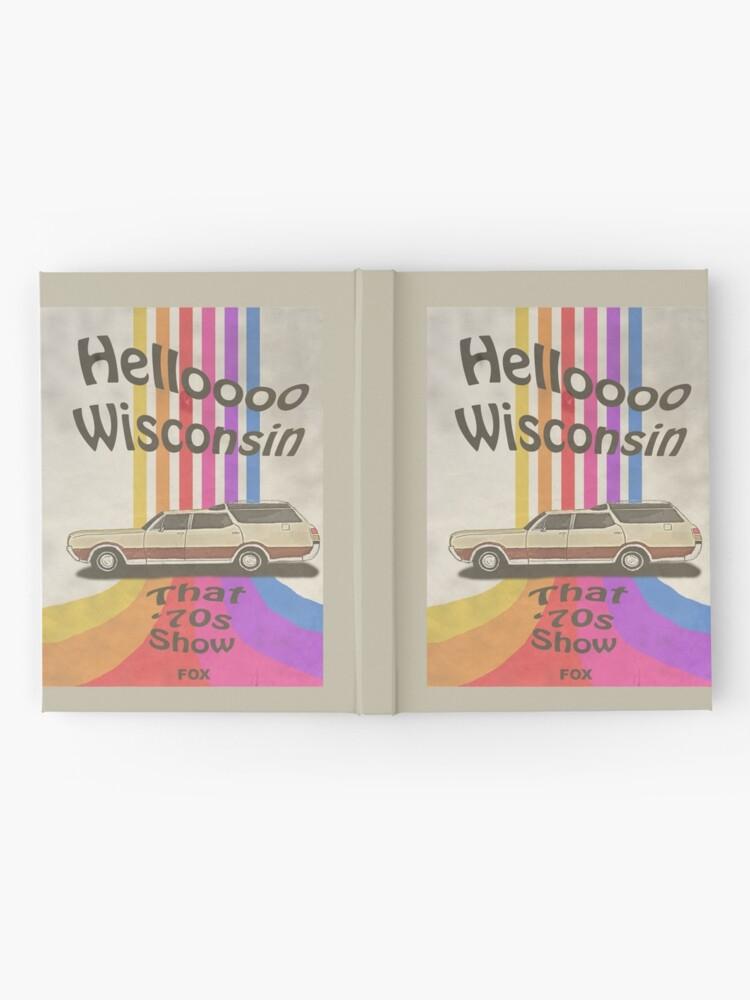 Alternate view of Hello Wisconsin Hardcover Journal