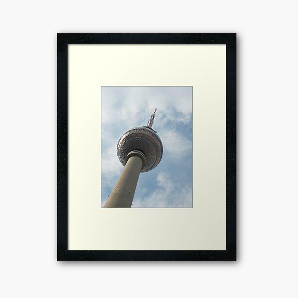 Fernsehturm Framed Art Print