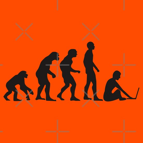 TShirtGifter presents: Evolution of Man