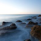 blue rocks by Michael Gray