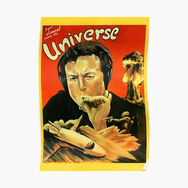 Elon Musk  smokes weed Poster
