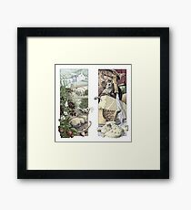 The Country Mouse and the City Mouse Framed Print
