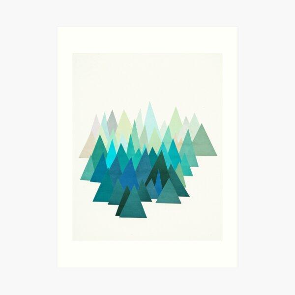 Cold Mountain Art Print