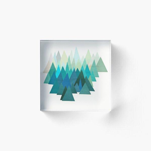 Cold Mountain Acrylic Block