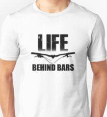 Camiseta unisex Life Behind Bars Mountain Biking / Diseño de MTB