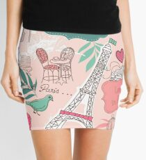 Paris In Love Mini Skirt