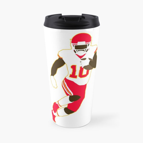 Tyreek Hill Cartoon Travel Mug