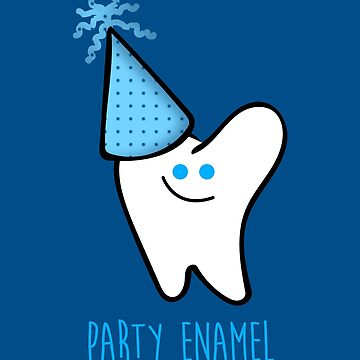 Party Enamel by HollyPrice