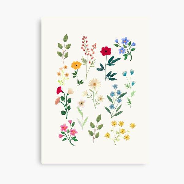 Spring Botanicals Canvas Print