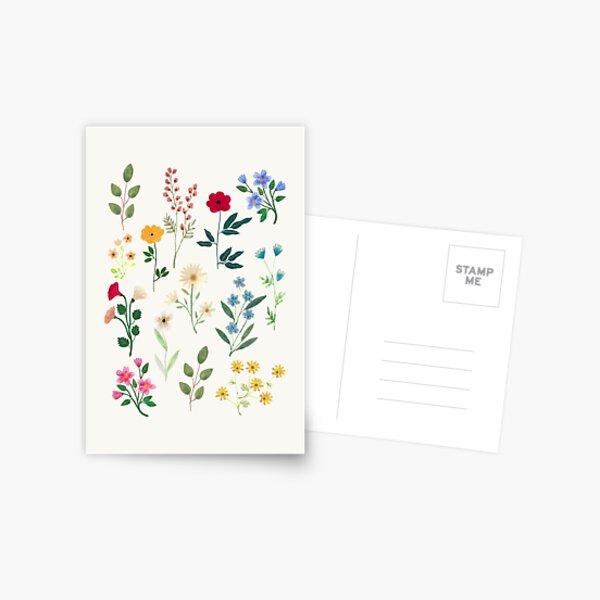 Spring Botanicals Postcard