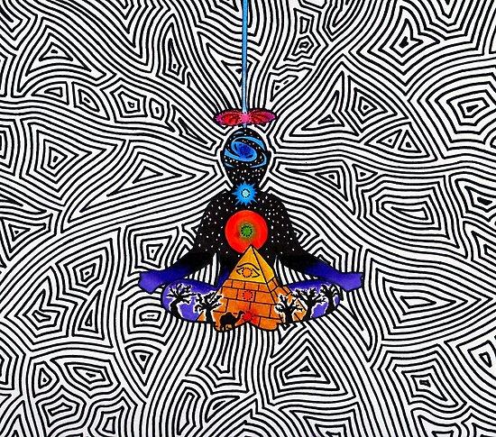 Psychedelische Meditation von cosmic-rebel