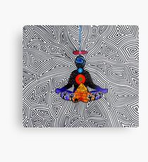 Psychedelic meditiation  Metal Print
