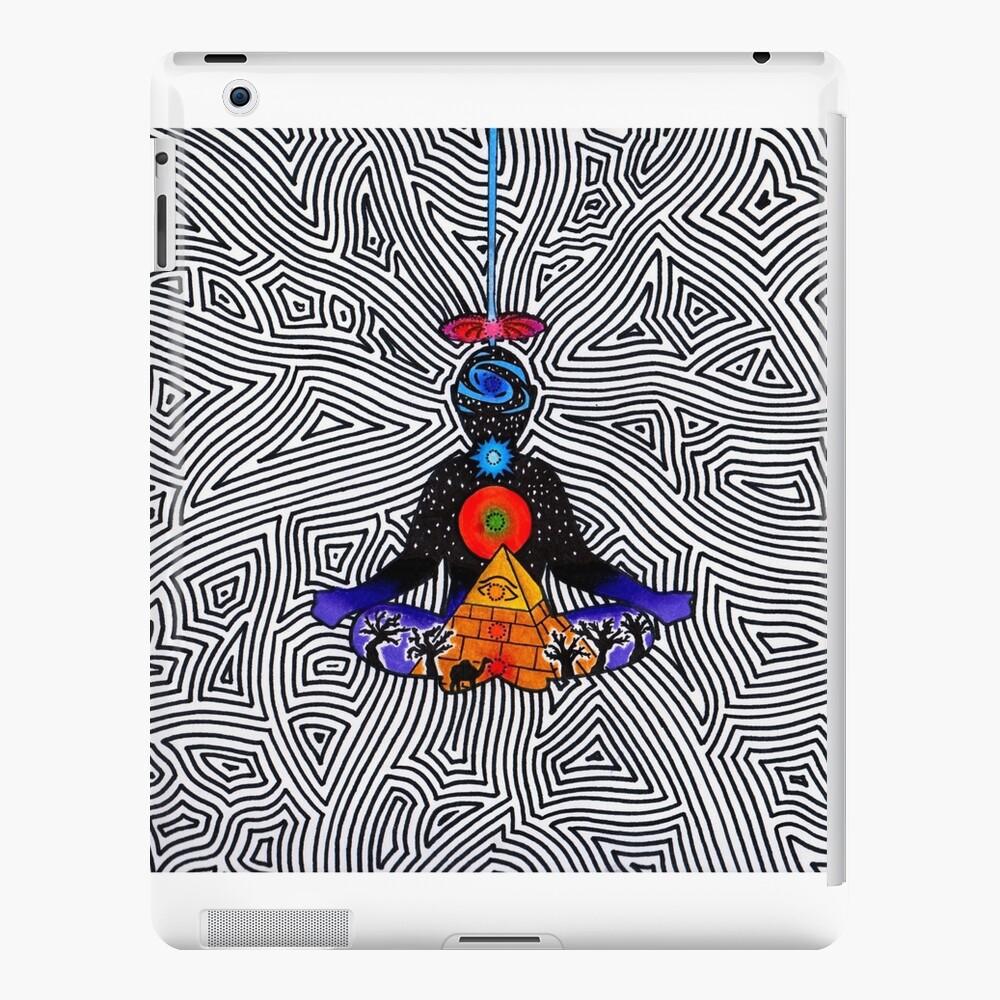 Psychedelische Meditation iPad-Hülle & Skin