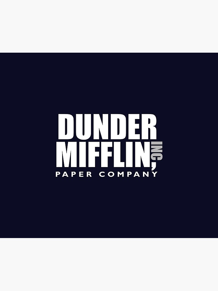 The Dunder Office Mifflin Inc. Design, T-Shirt, tshirt, tee, jersey, poster, Original Funny Gift Idea, Dwight Best Quote From by clothorama