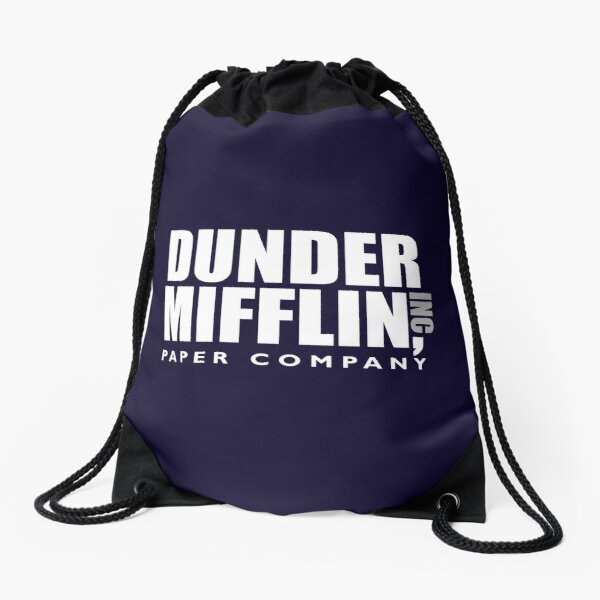 Das Design von Dunder Office Mifflin Inc. Turnbeutel