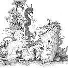 Monstrous Tea Party by Ellie Fortune