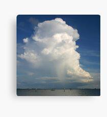 Tropical Storm Canvas Print