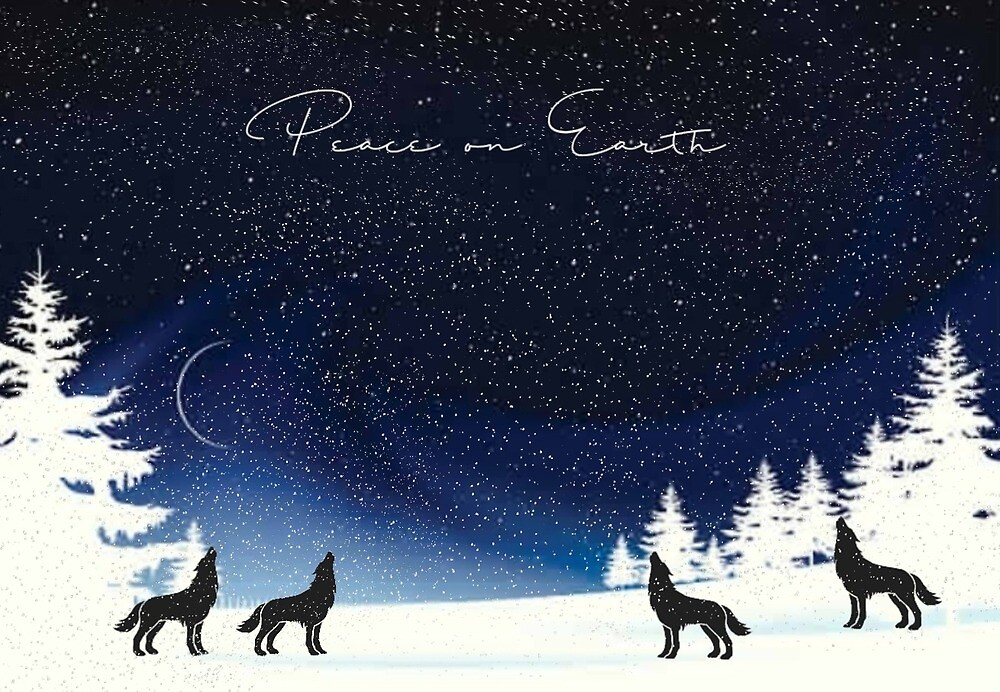 Peace on Earth  by WolfShadow27