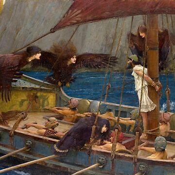 Ulysses and the Sirens - John William Waterhouse by maryedenoa
