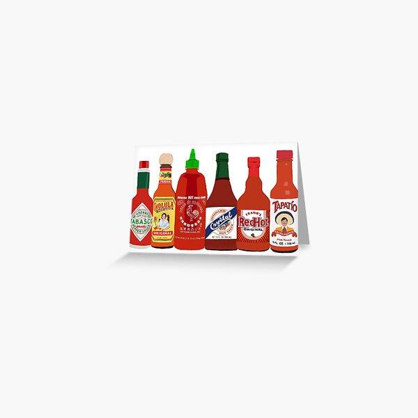 Hot Sauce Greeting Card