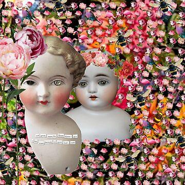 Flower Dolls by Hoopday