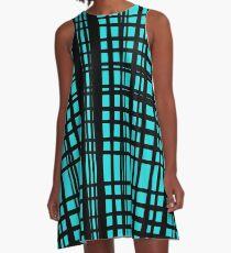 Schachmatt A-Linien Kleid
