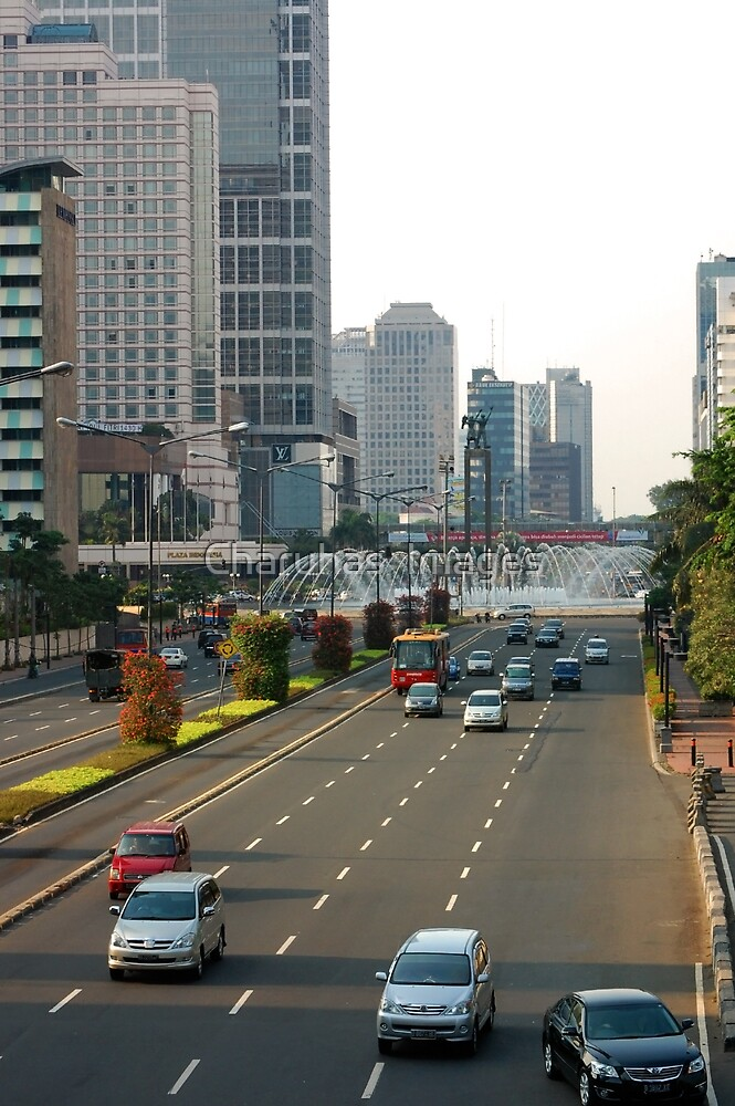 Cityscape - Jakarta by Charuhas  Images