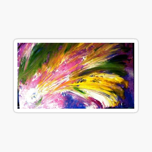 """""""Soul Descends, Soul Ascends"""" - Whole Painting Sticker"""