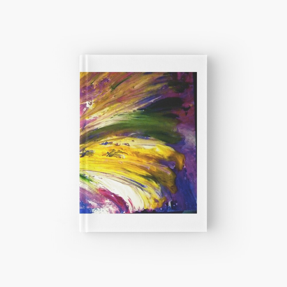 """Soul Descends, Soul Ascends"" - Whole Painting Hardcover Journal"