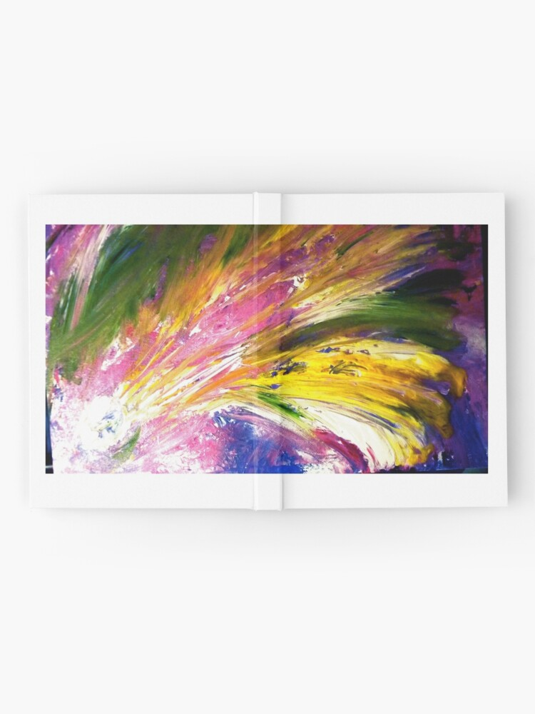 "Alternate view of ""Soul Descends, Soul Ascends"" - Whole Painting Hardcover Journal"