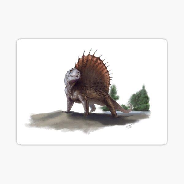 Dimetrodon - The Grandis Reptile Sticker